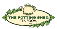 The Potting Shed Tea Room logo