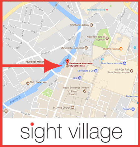 Sight VIllage Manchester Venue Map
