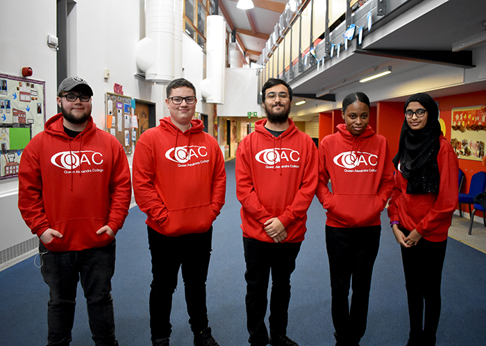 2020 QAC Student Ambassadors Group photo