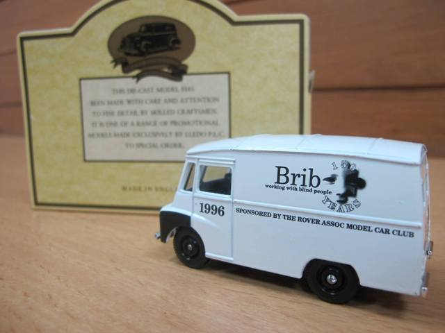 brib die-cast model van out of box