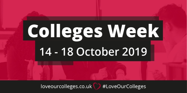 Colleges Week 14-18 October 2019