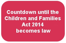 Countdown to the Children and Families Act 2014 logo