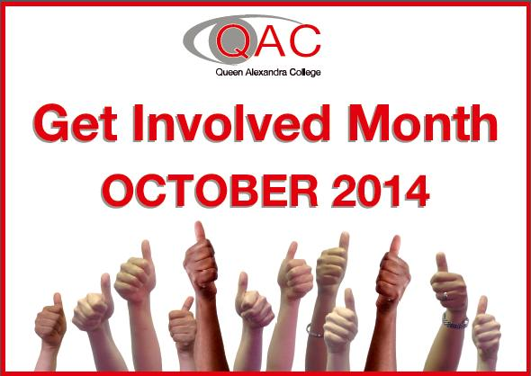 Thumbs up for 'Get Involved Month'