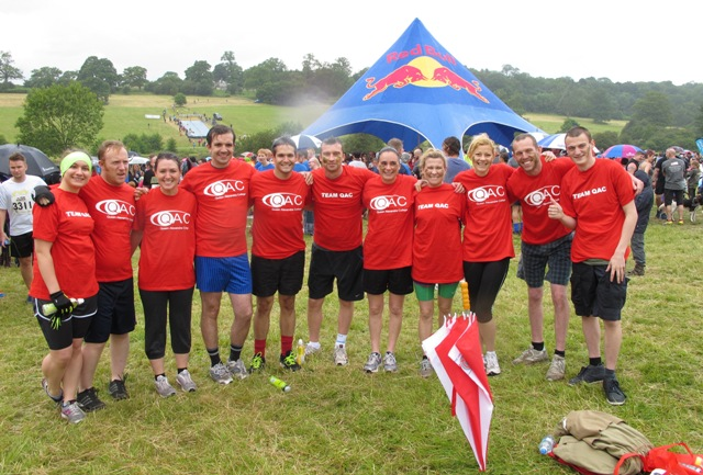 Team QAC group photo at Mud Runner Oblivion 2014