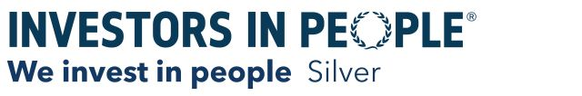 Investors in People, We invest in people Silver logo