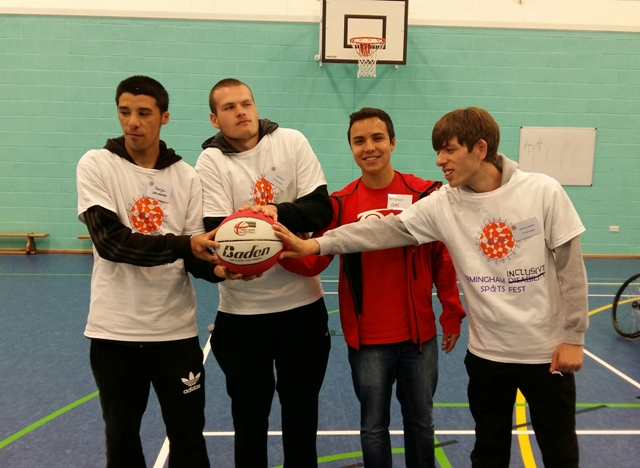 Birmingham Inclusive Sports Fest launch 2015