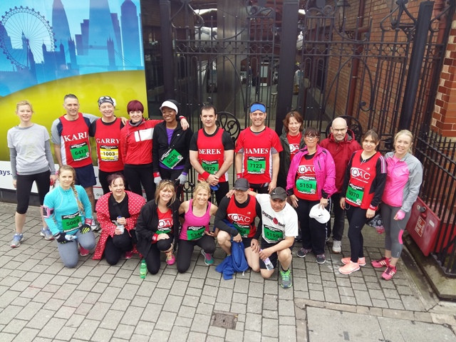 Team QAC runners