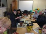 The group taking part in Crafts activities