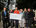 DofE donation cheque presented to QAC