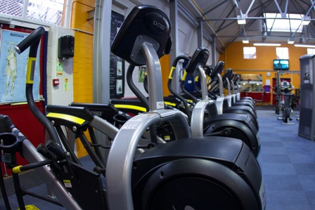 Cross trainers in Feelgood Fitness Centre